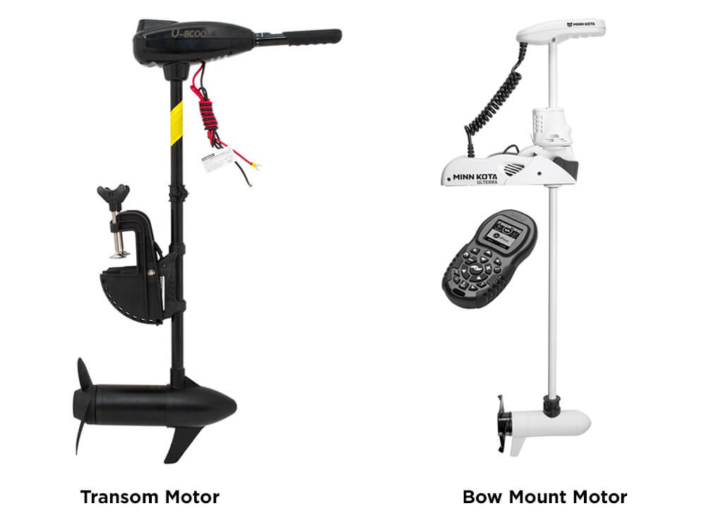 Bow-Mount Motor and Transom Motors