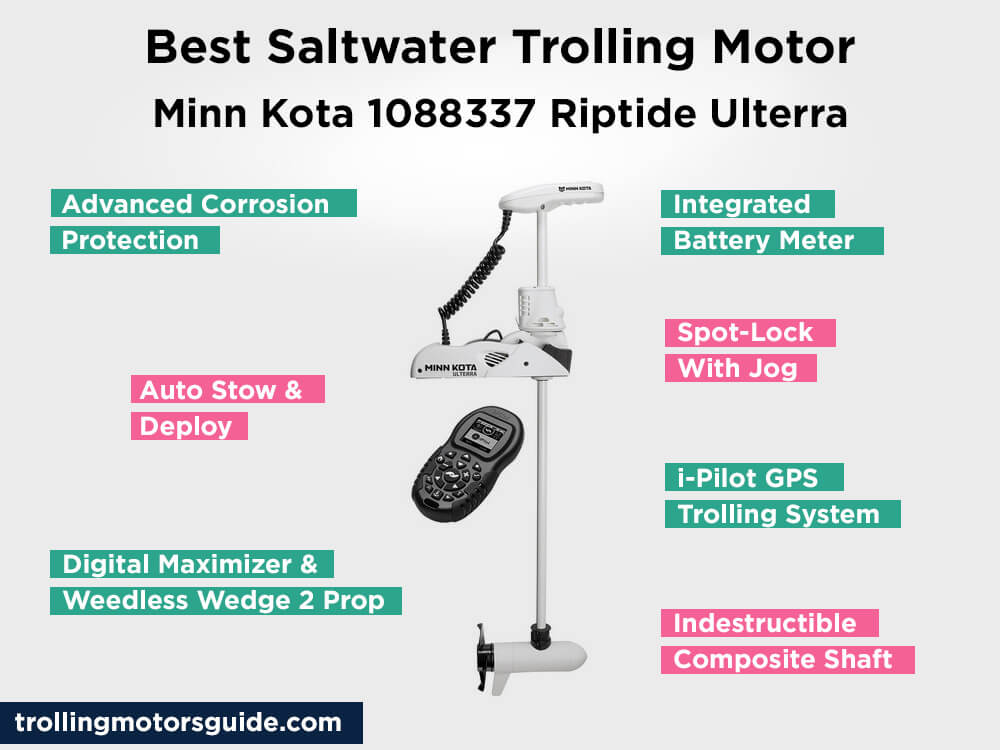 Minn Kota 1088337 Riptide Ulterra Review, Pros and Cons