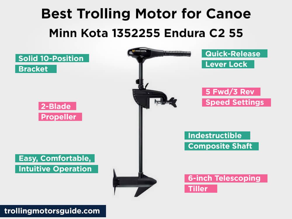 Minn Kota 1352255 Endura C2 55 Review, Pros and Cons