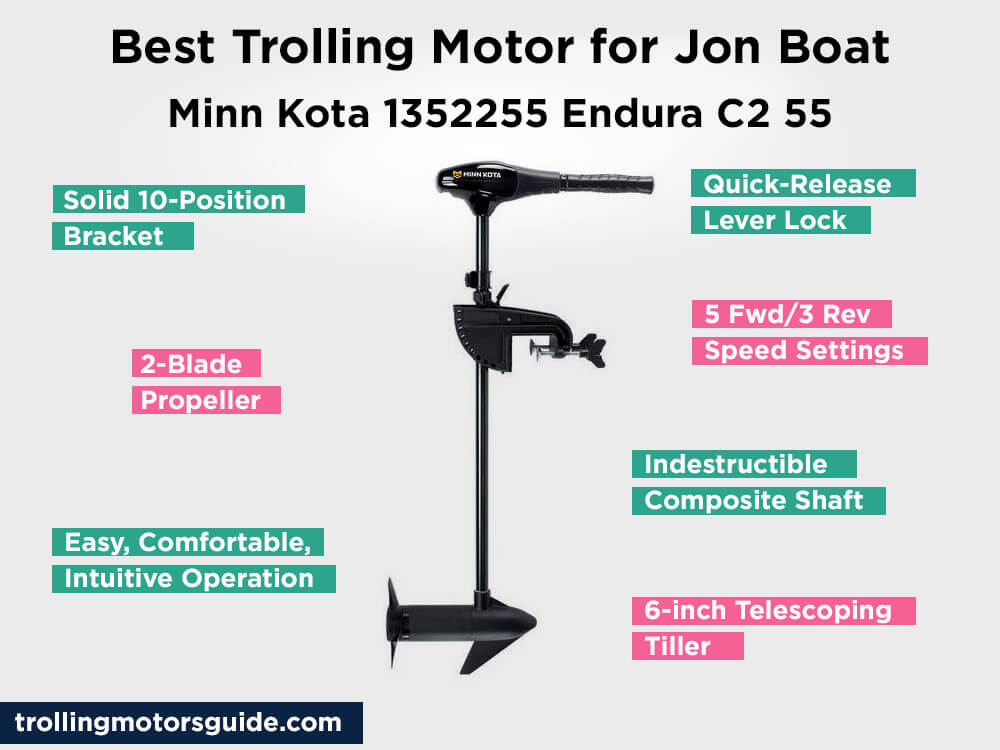 Minn Kota 1352255 Endura C2 55 Review, Pros and Cons