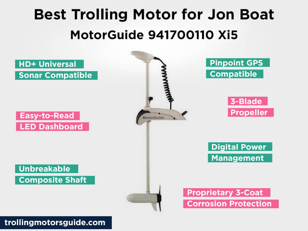 MotorGuide 941700110 Xi5 Review, Pros and Cons