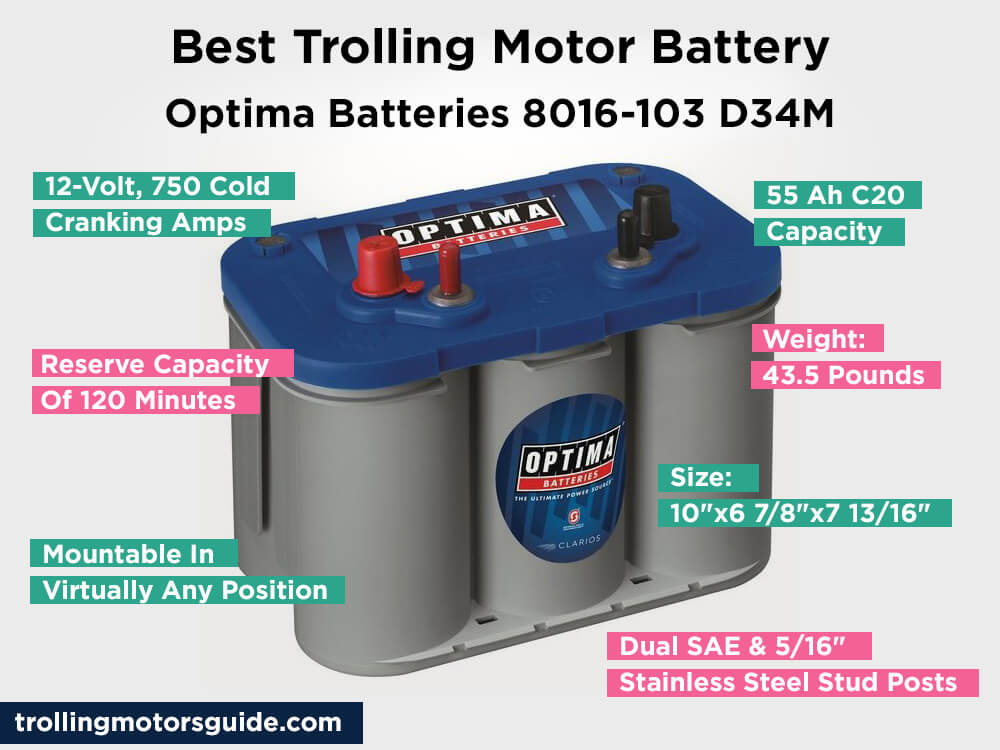Optima Batteries 8016-103 D34M Review, Pros and Cons