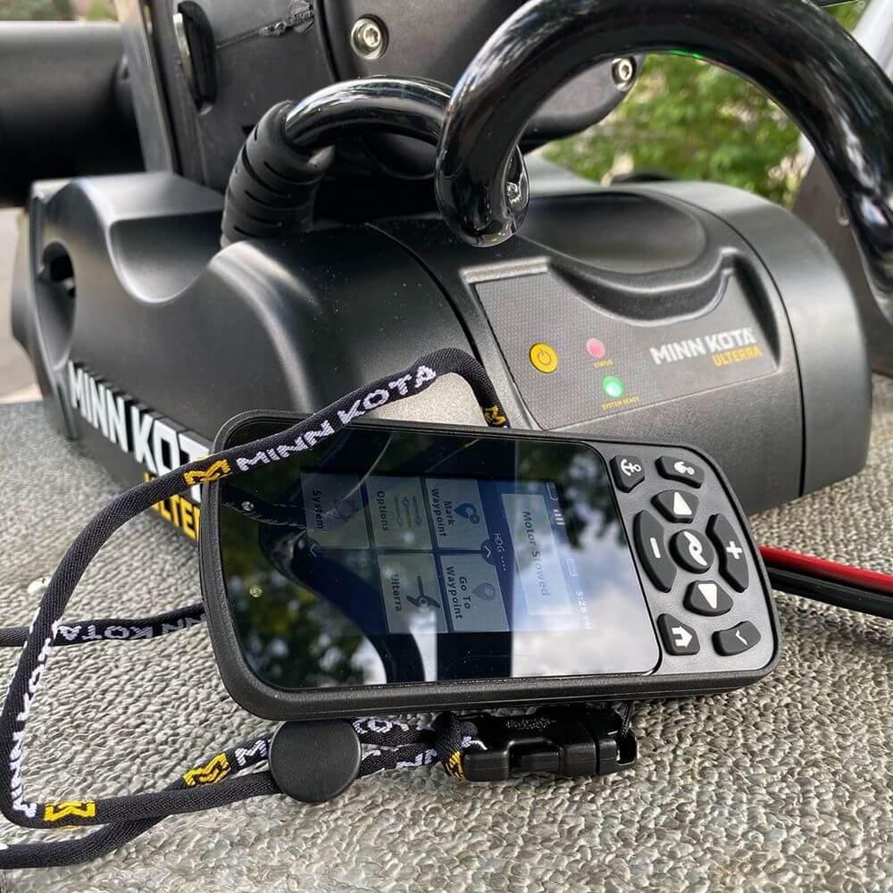 Minn Kota 1082341 Ulterra with i-Pilot remote control