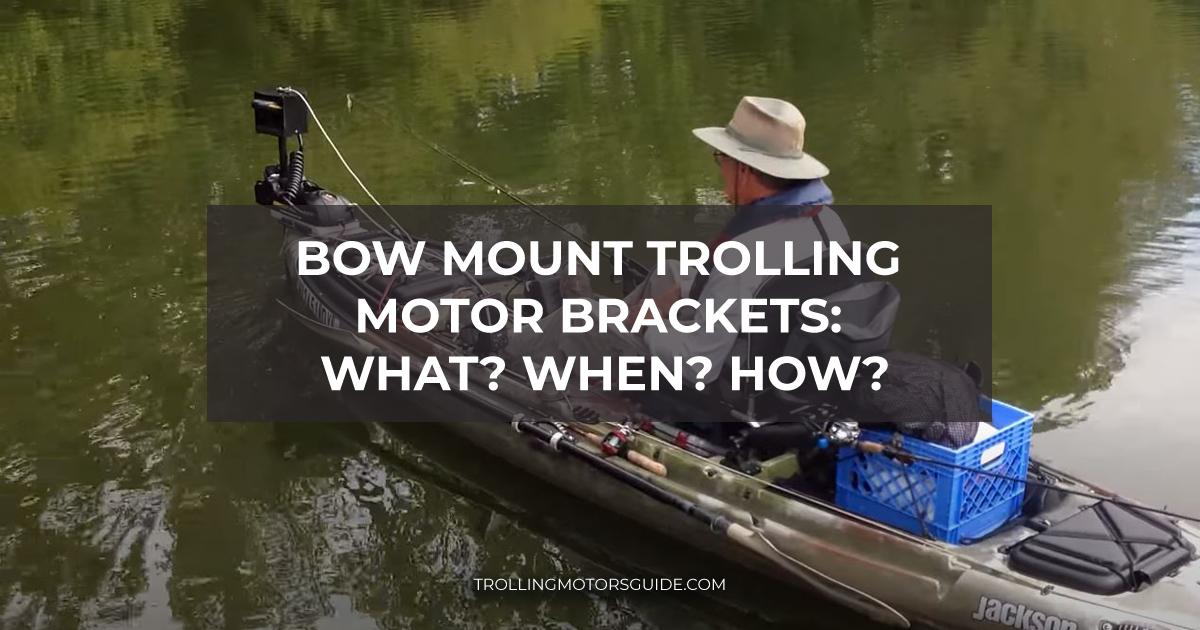 Bow Mount Trolling Motor Brackets-1