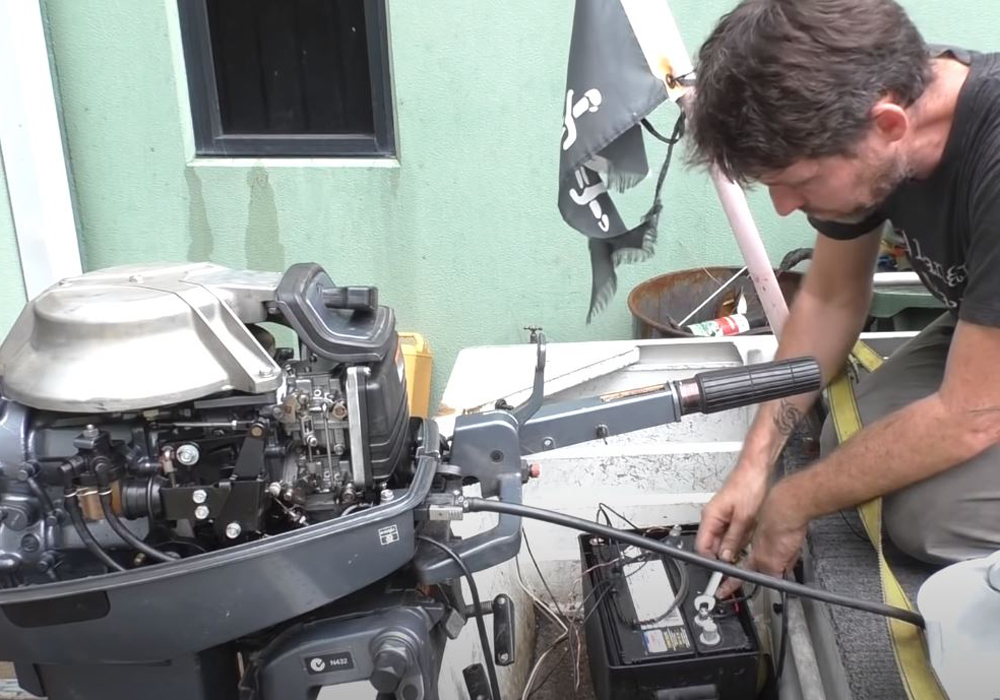 Charging A Boat Motor Battery-2